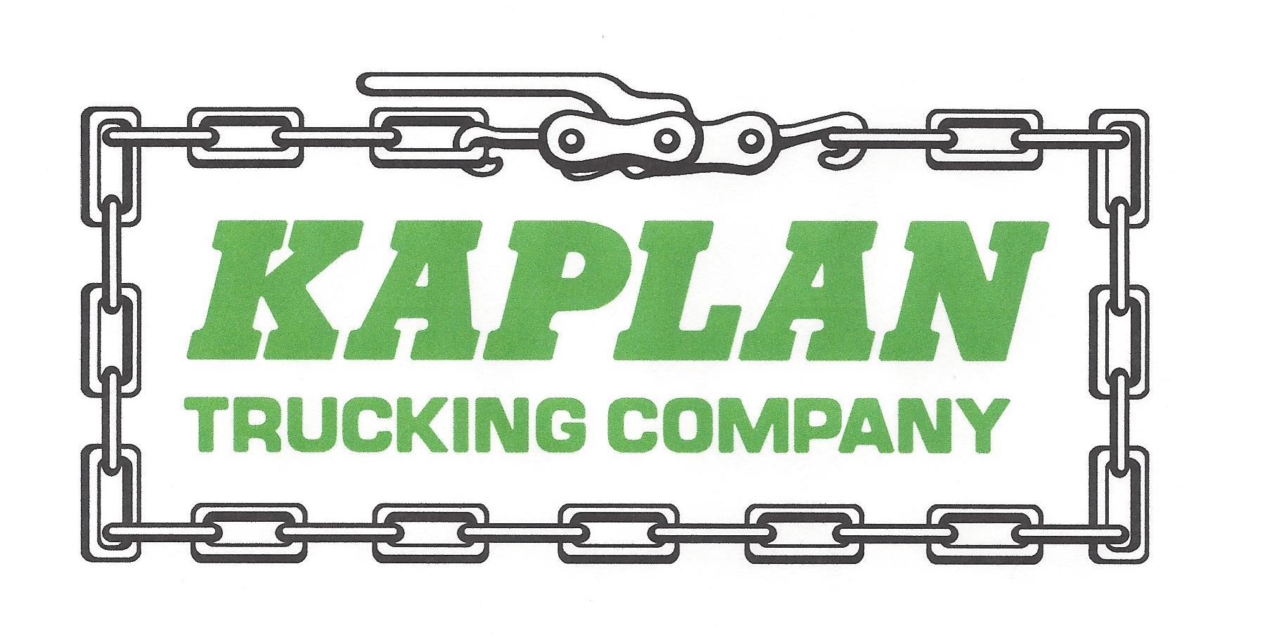 Kaplan Trucking Logo